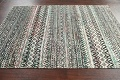 Chevron Style Abstract Oriental Area Rug 6x9 image 14