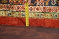 Pre-1900 Antique Vegetable Dye Sultanabad Persian Rug 15x22 image 19