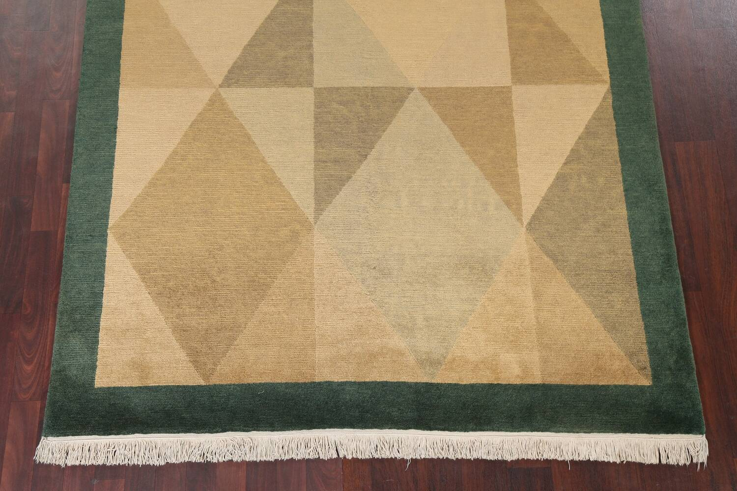 Vegetable Dye Nepalese Contemporary Area Rug 6x9 image 6
