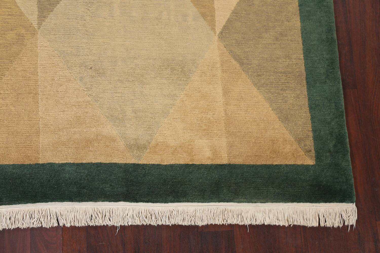 Vegetable Dye Nepalese Contemporary Area Rug 6x9 image 7