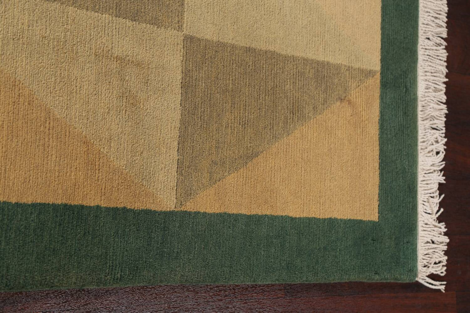 Vegetable Dye Nepalese Contemporary Area Rug 6x9 image 14