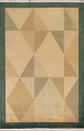 Vegetable Dye Nepalese Contemporary Area Rug 6x9 image 1