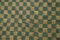 Green/ Gold Checkered Nepalese Wool Area Rug 6x9 image 9