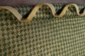 Green/ Gold Checkered Nepalese Wool Area Rug 6x9 image 16
