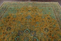 Distressed Over-Dye Kashan Persian Area Rug 10x13 image 13