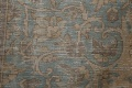 Muted Distressed Mashad Persian Area Rug 7x10 image 10