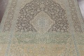 Traditional Distressed Kashan Persian Area Rug 10x14 image 4