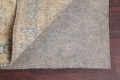 Traditional Distressed Kashan Persian Area Rug 10x14 image 8