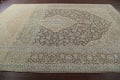 Traditional Distressed Kashan Persian Area Rug 10x14 image 17