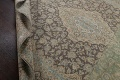 Traditional Distressed Kashan Persian Area Rug 10x14 image 20