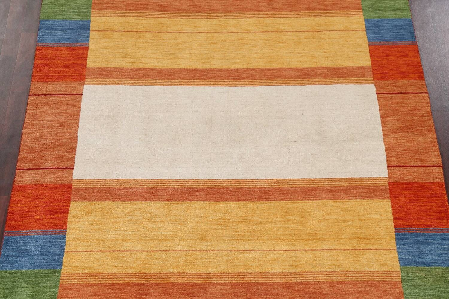 Contemporary Gabbeh Wool Area Rug 7x10 image 4