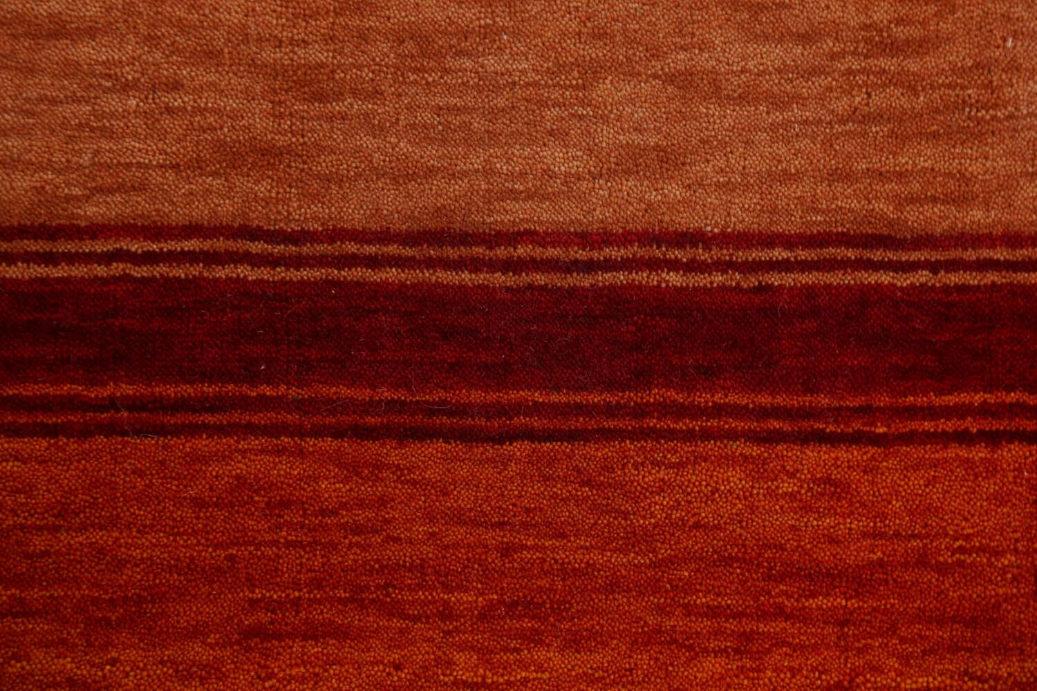 Contemporary Gabbeh Wool Area Rug 7x10 image 9