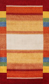 Contemporary Gabbeh Wool Area Rug 7x10 image 1