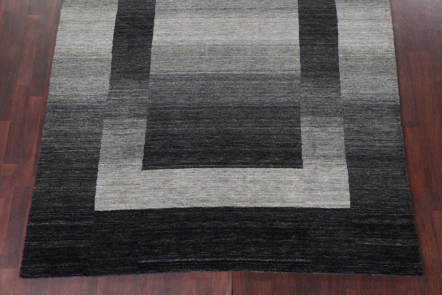 Contemporary Gabbeh Wool Area Rug 7x10 image 6
