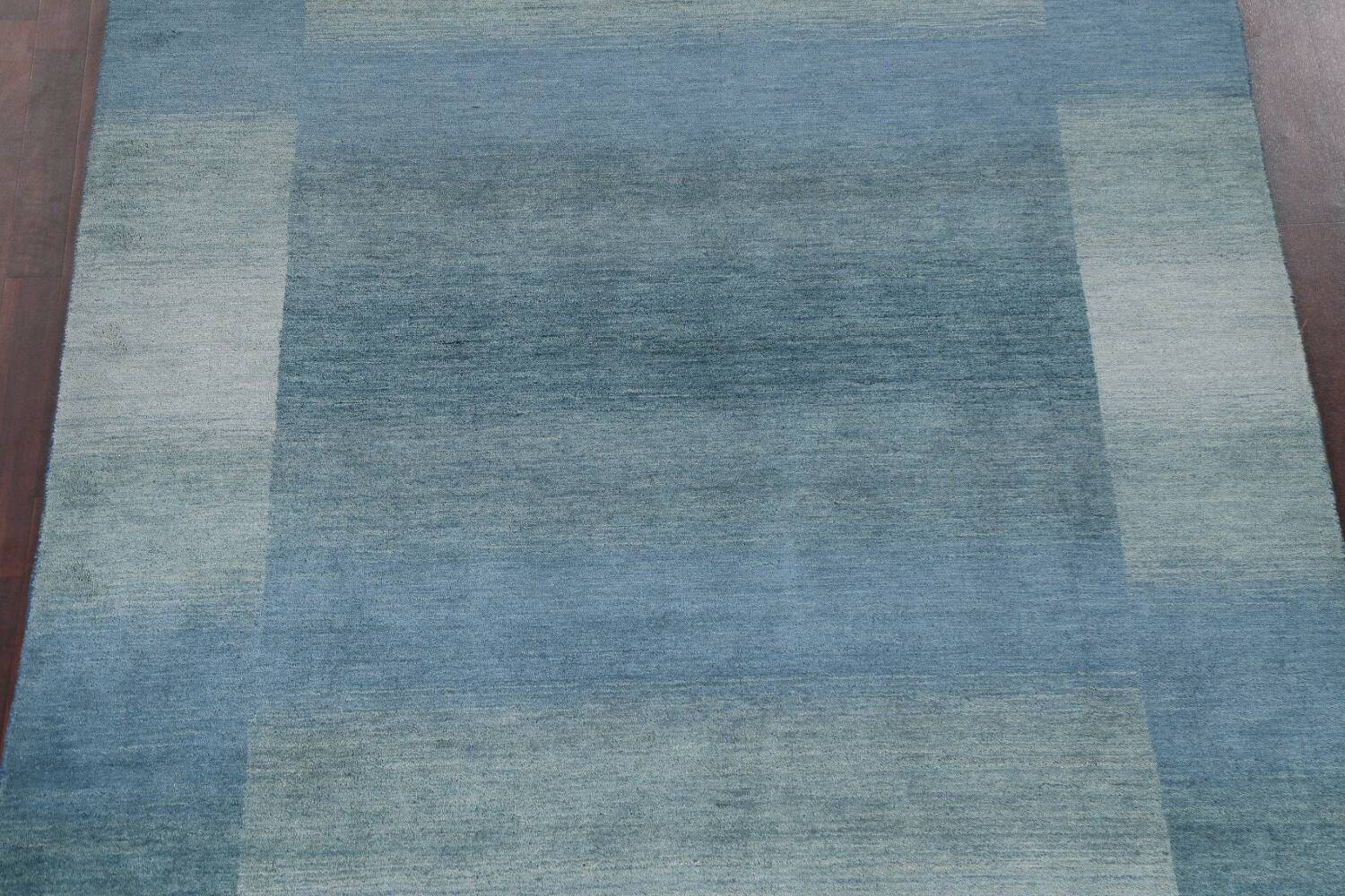 Contemporary Gabbeh Wool Area Rug 6x9 image 4