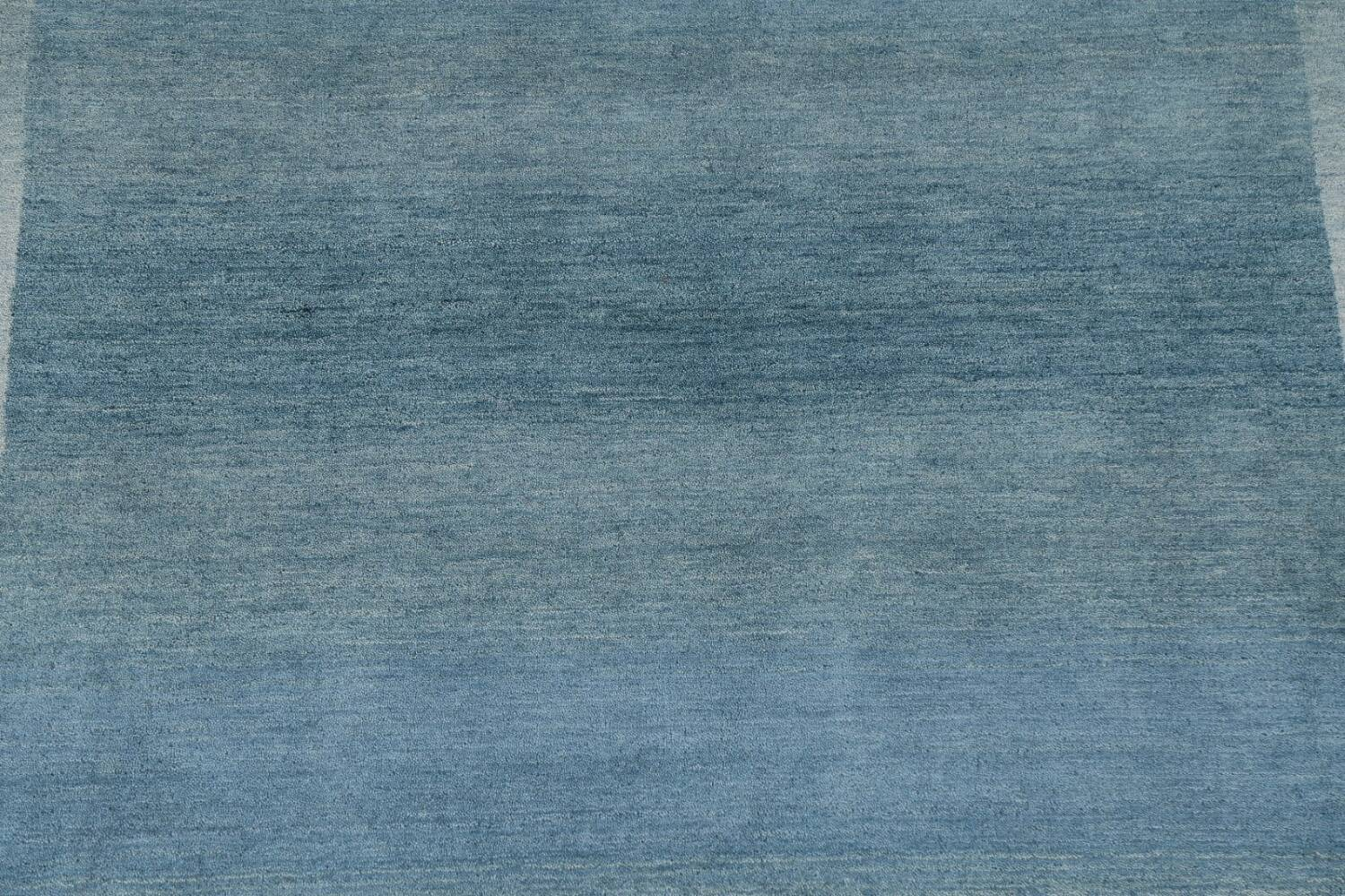 Contemporary Gabbeh Wool Area Rug 6x9 image 5