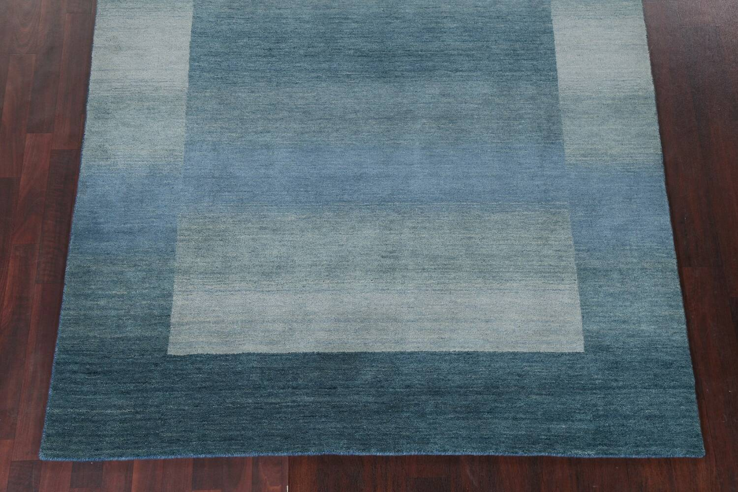 Contemporary Gabbeh Wool Area Rug 6x9 image 6