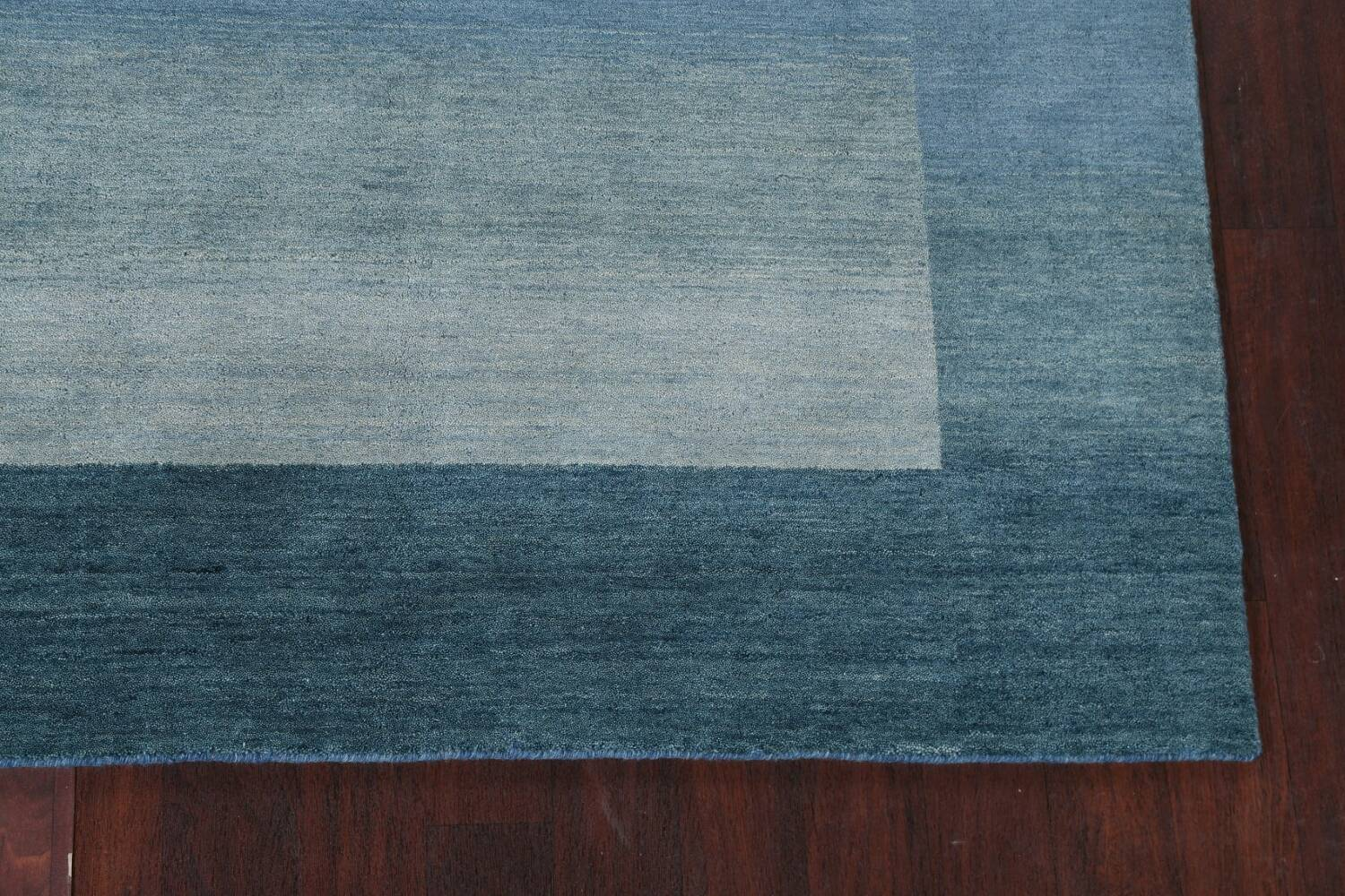 Contemporary Gabbeh Wool Area Rug 6x9 image 7