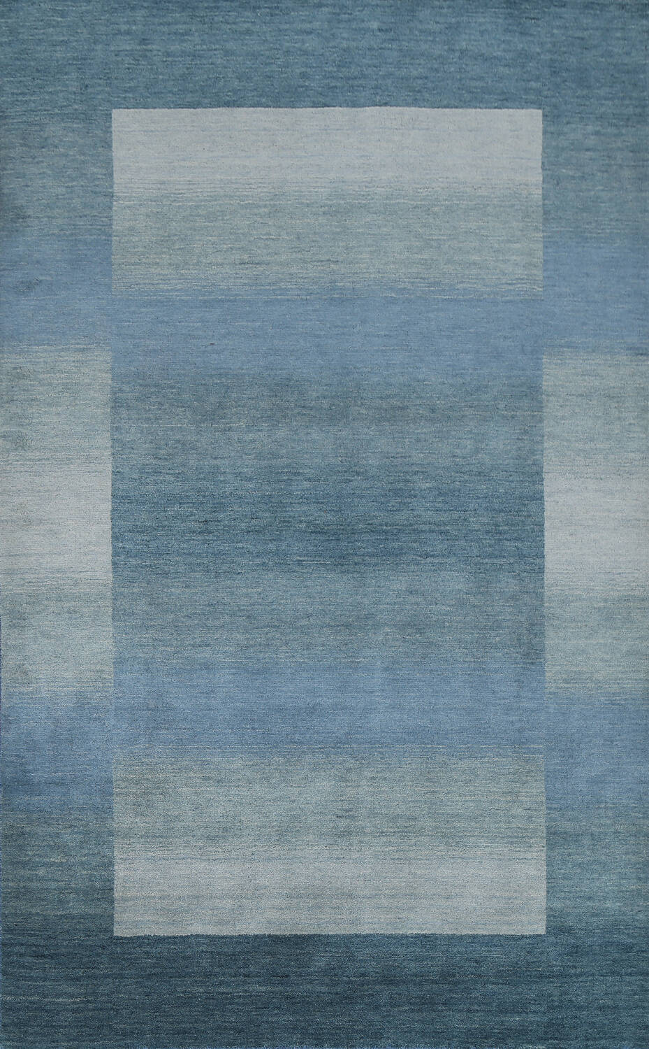Contemporary Gabbeh Wool Area Rug 6x9 image 1