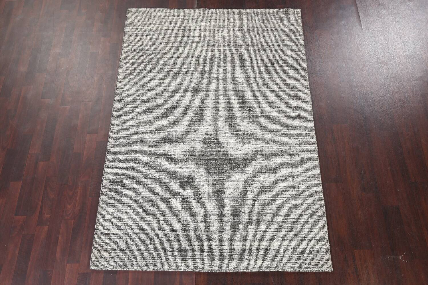 Abstract Gabbeh Wool Area Rug 5x8 image 3