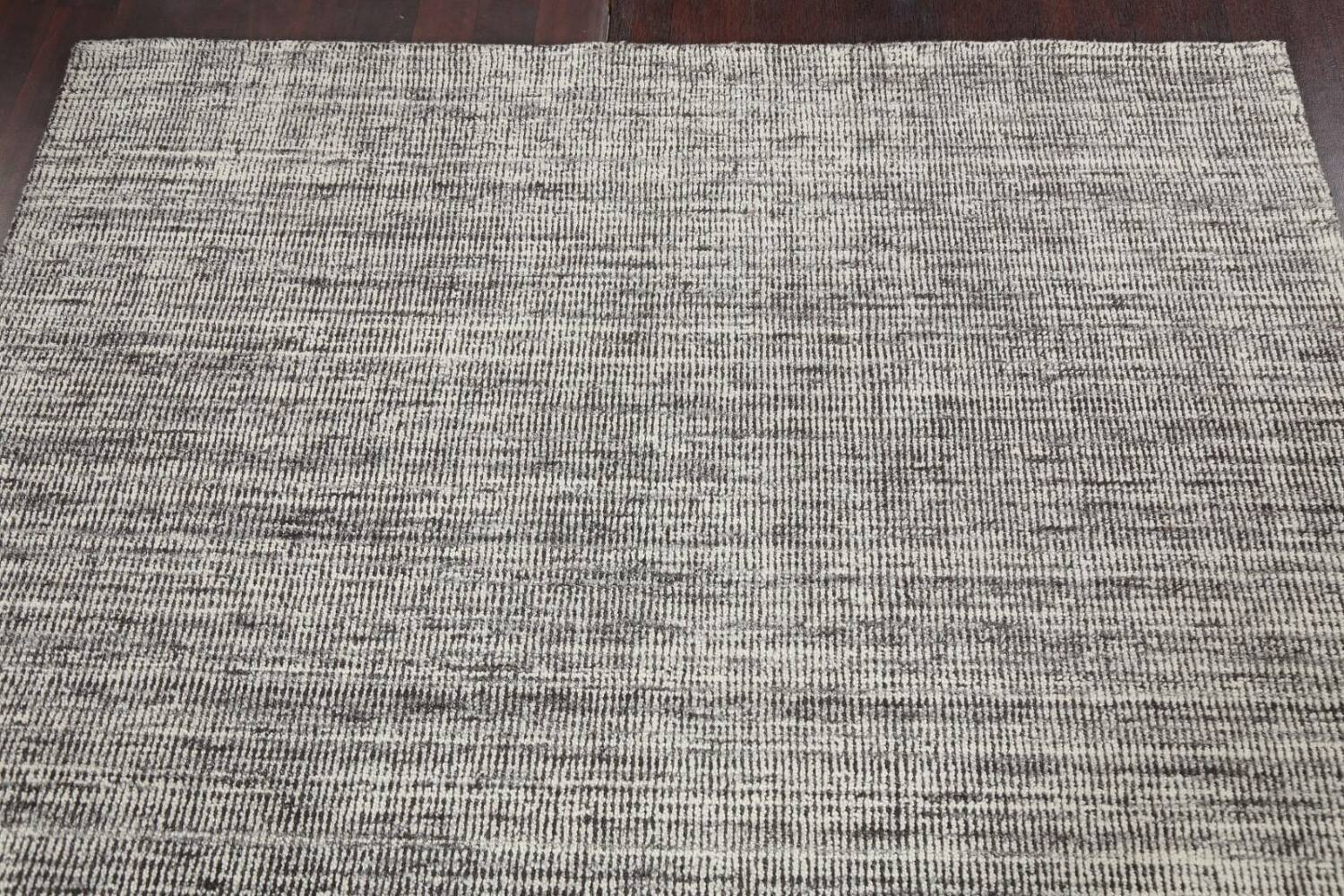 Abstract Gabbeh Wool Area Rug 5x8 image 11