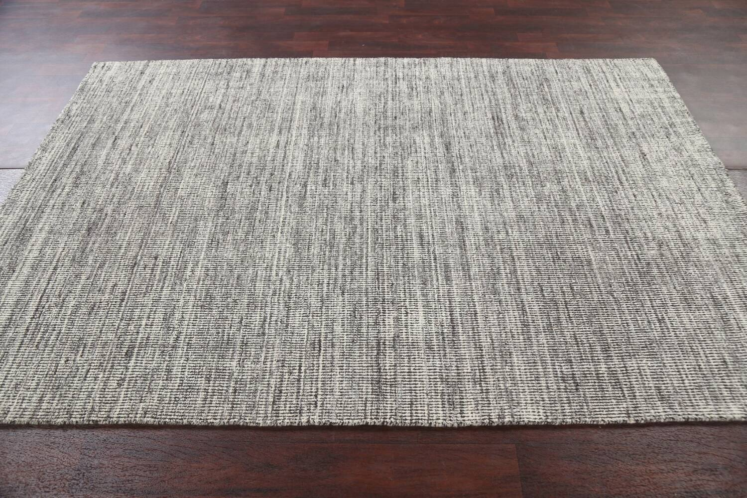 Abstract Gabbeh Wool Area Rug 5x8 image 13