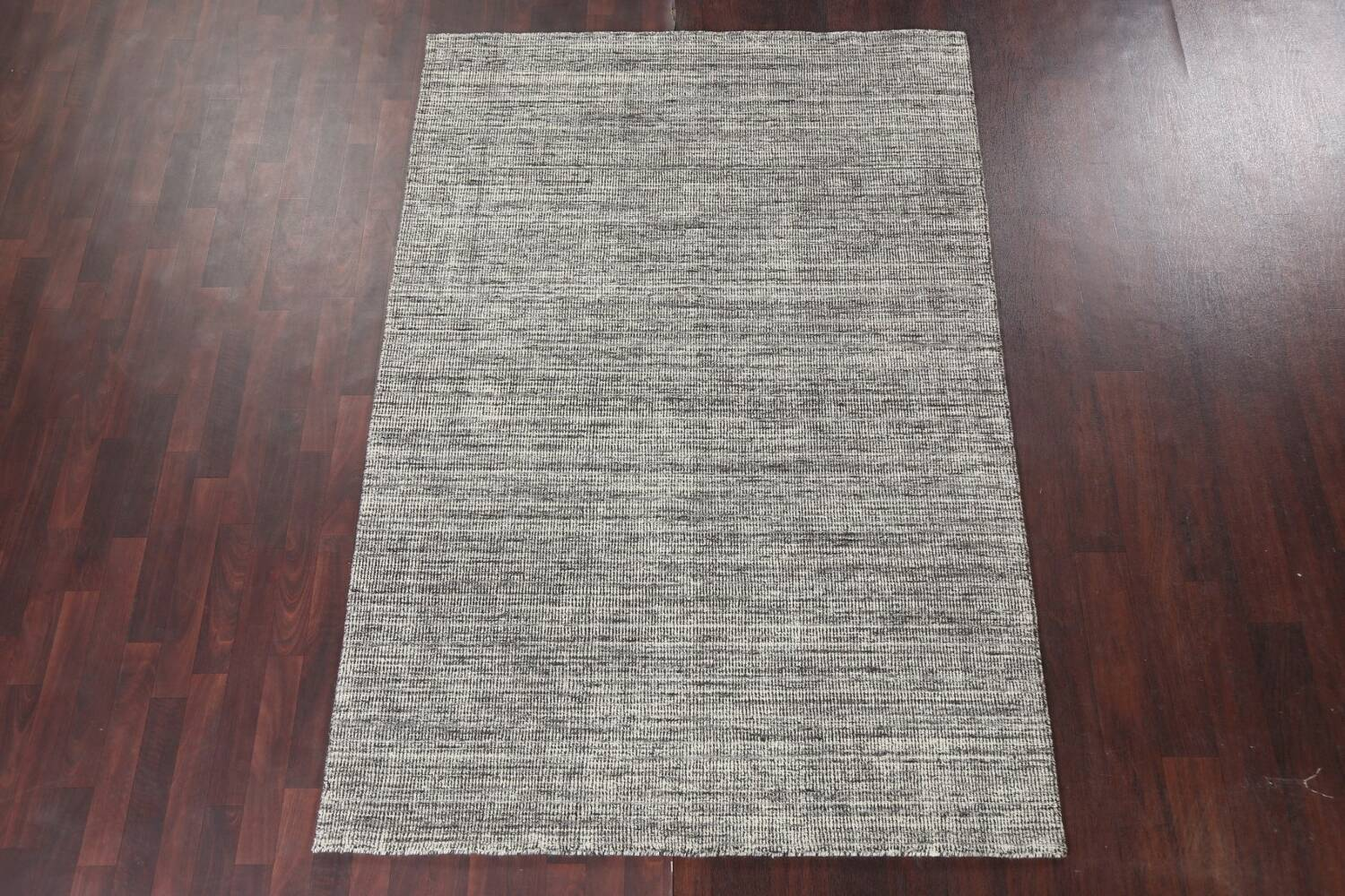 Abstract Gabbeh Wool Area Rug 5x8 image 14