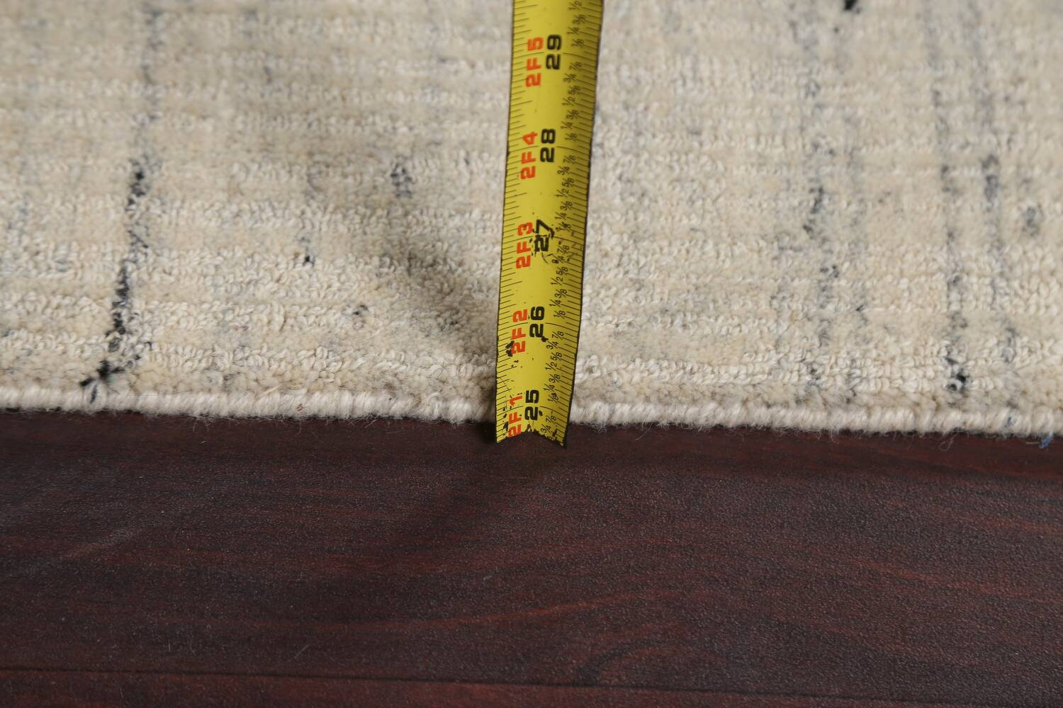 Contemporary Gabbeh Wool Area Rug 5x8 image 18