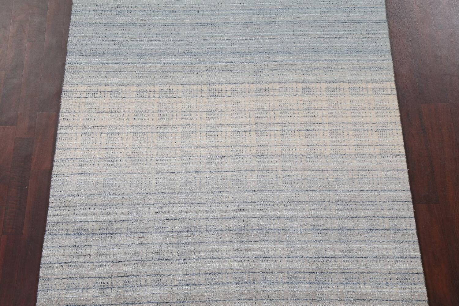 Contemporary Gabbeh Wool Area Rug 5x8 image 4