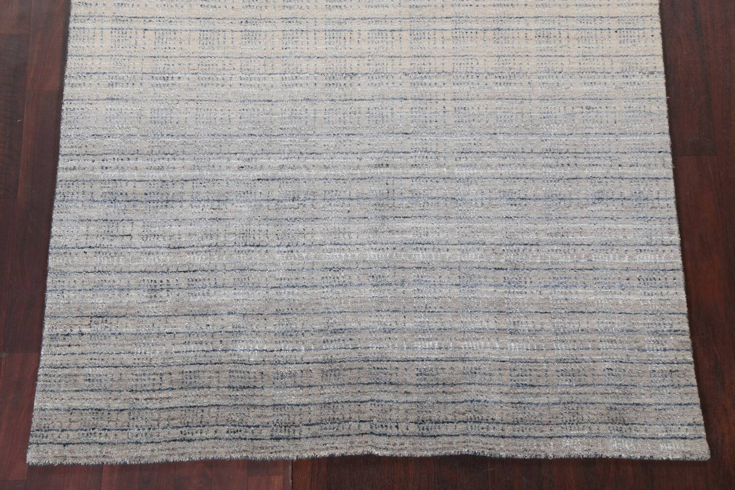 Contemporary Gabbeh Wool Area Rug 5x8 image 6