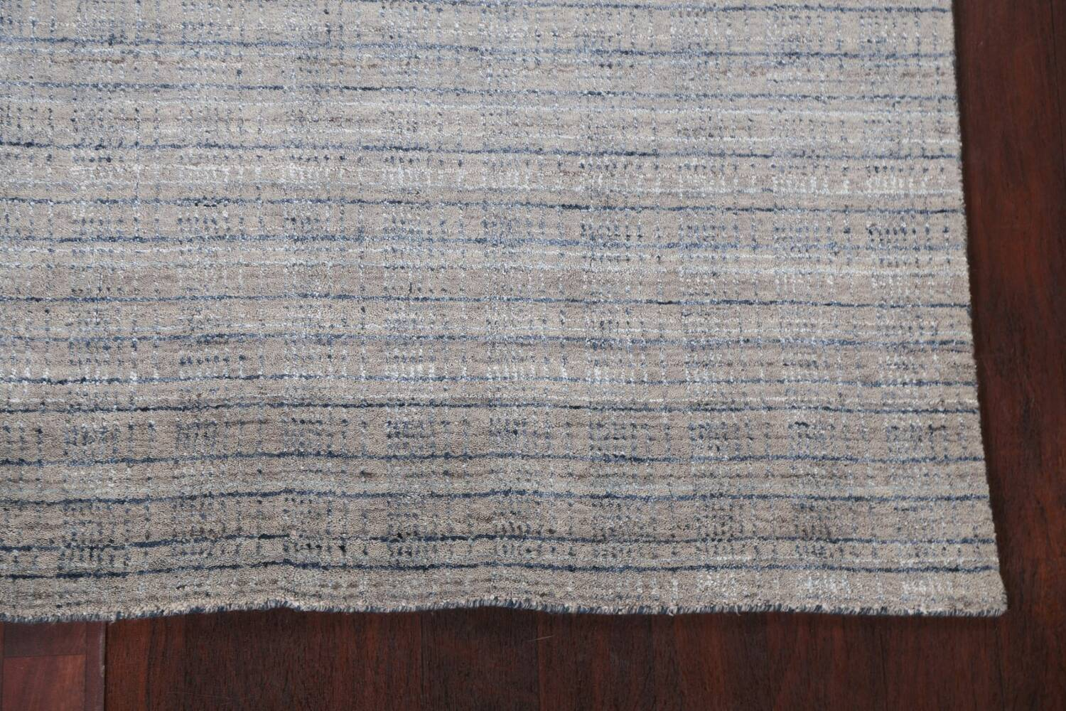 Contemporary Gabbeh Wool Area Rug 5x8 image 7