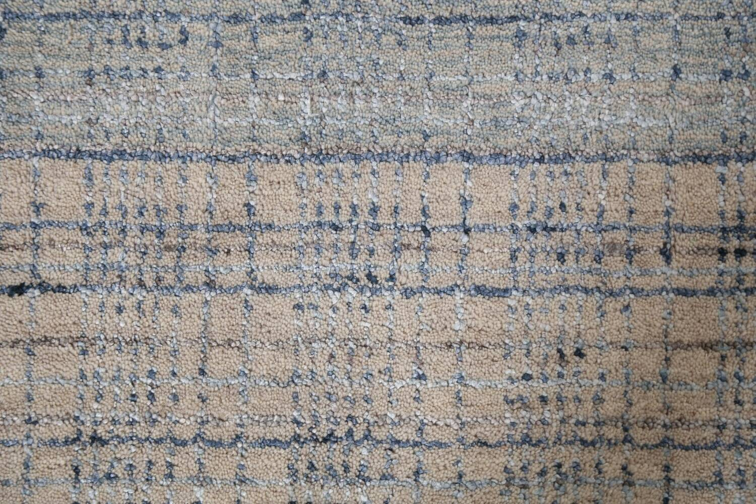 Contemporary Gabbeh Wool Area Rug 5x8 image 9