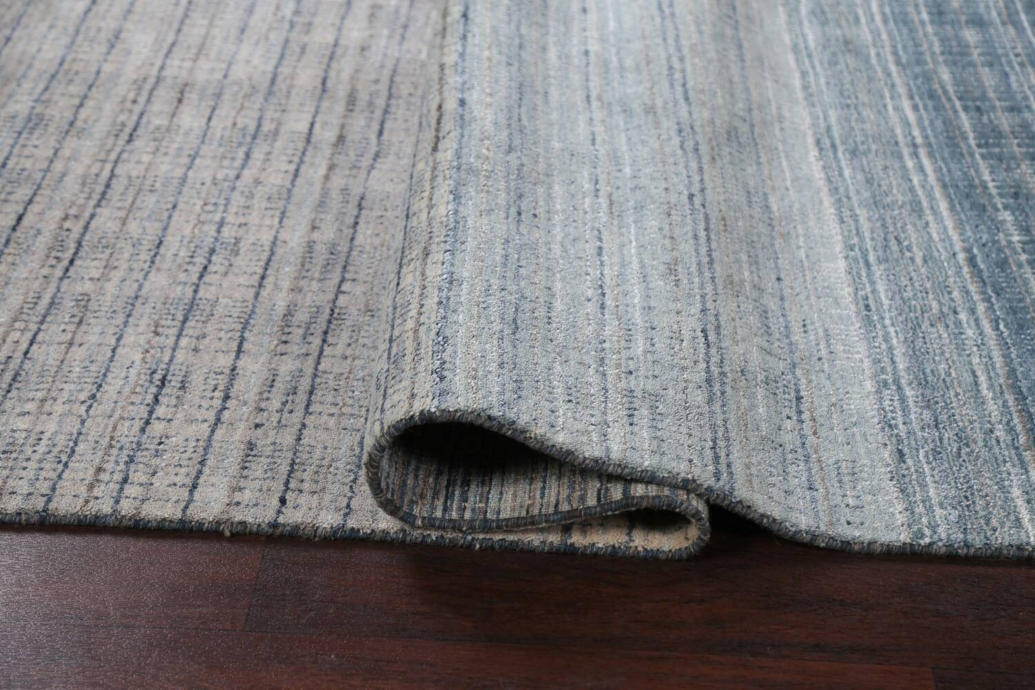 Contemporary Gabbeh Wool Area Rug 5x8 image 11