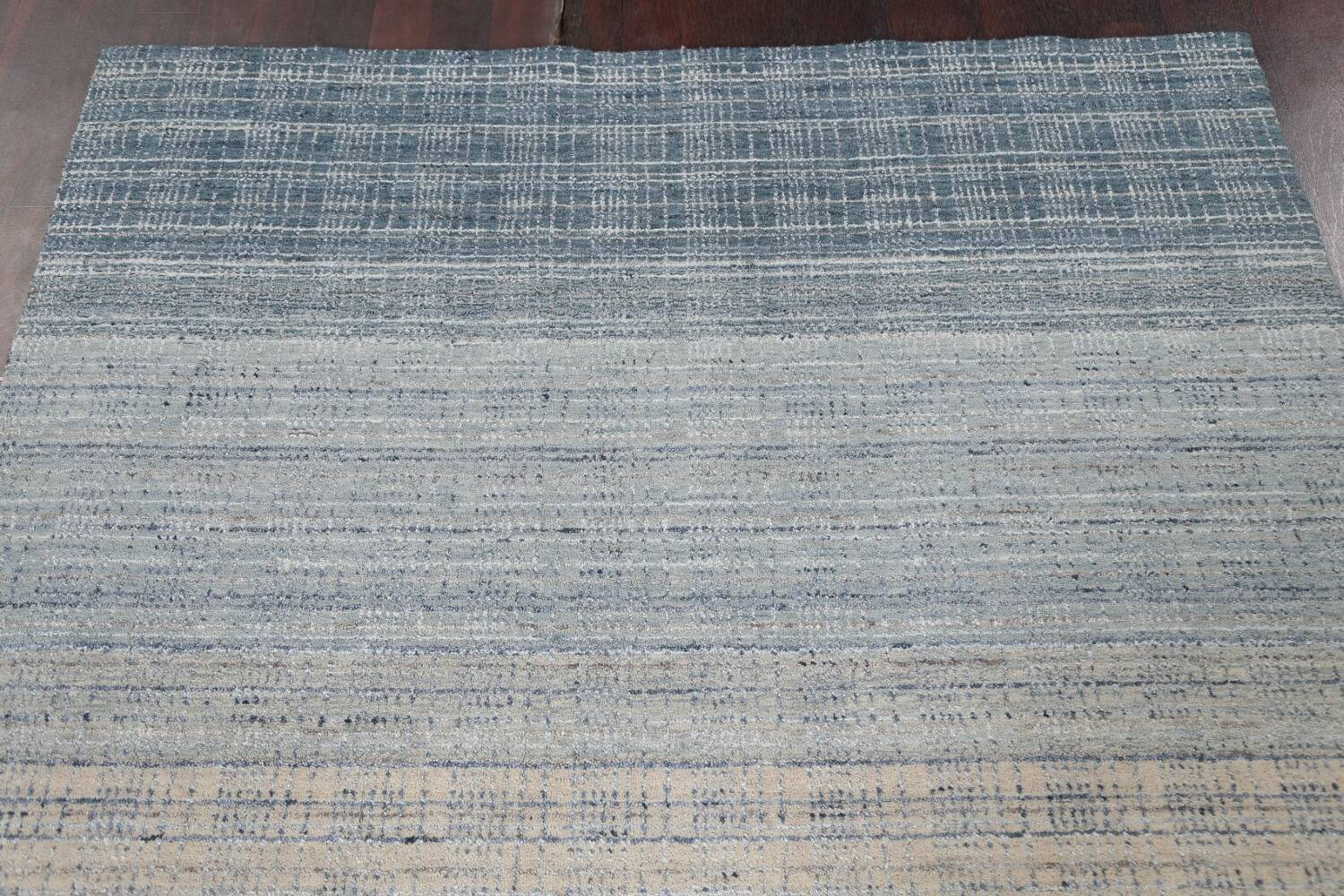 Contemporary Gabbeh Wool Area Rug 5x8 image 12