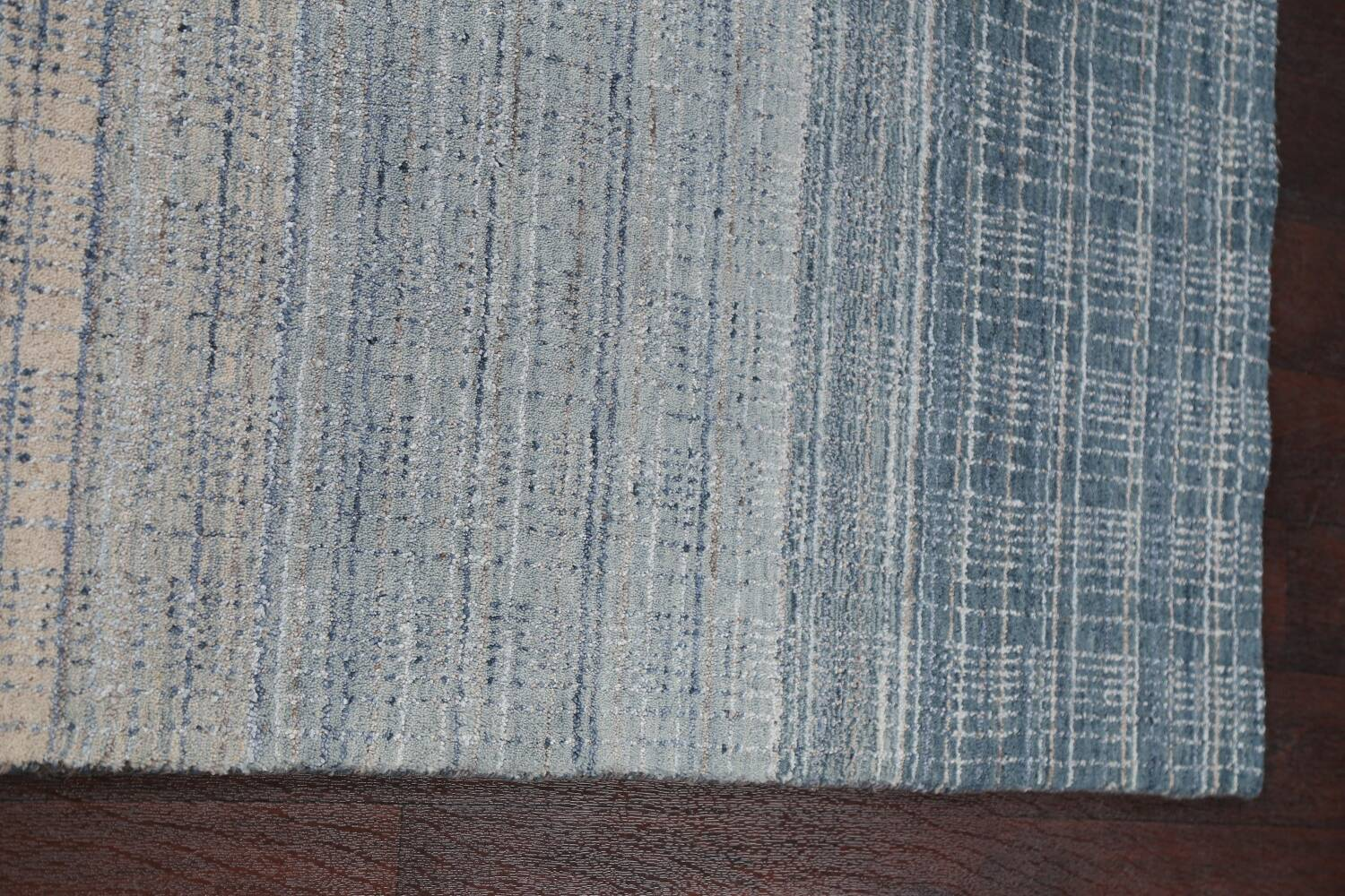 Contemporary Gabbeh Wool Area Rug 5x8 image 13