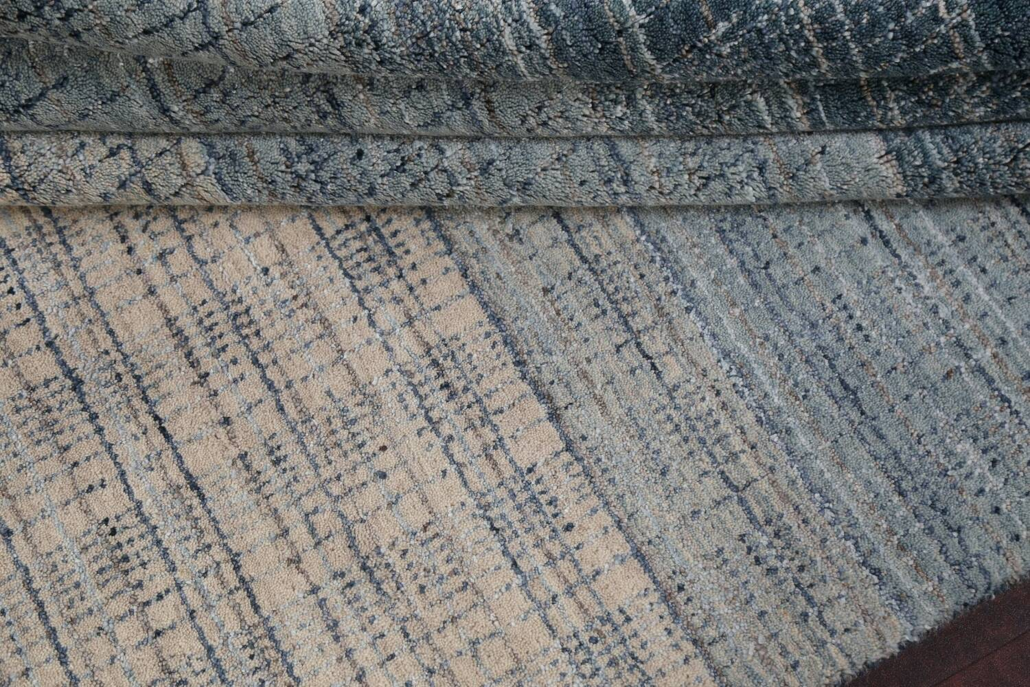 Contemporary Gabbeh Wool Area Rug 5x8 image 16