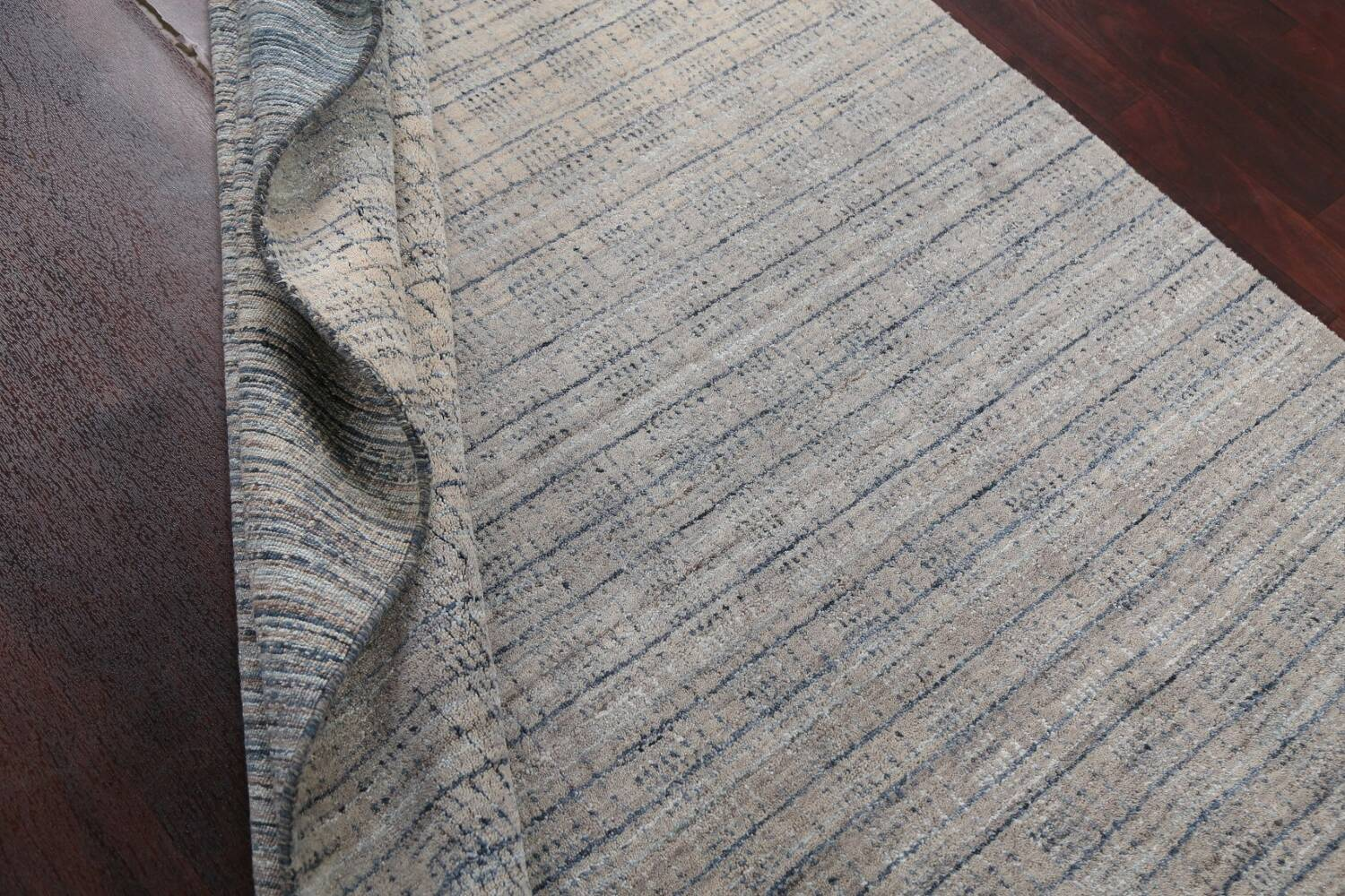 Contemporary Gabbeh Wool Area Rug 5x8 image 17